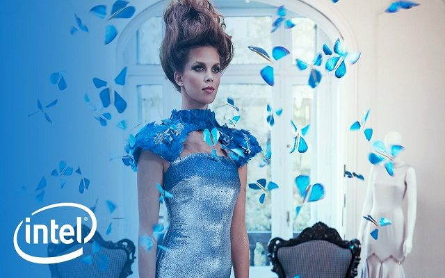 Bringing Technology to the Fashion-Intel designs a Butterfly Dress