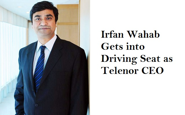 Irfan Wahab Gets into Driving Seat as Telenor CEO