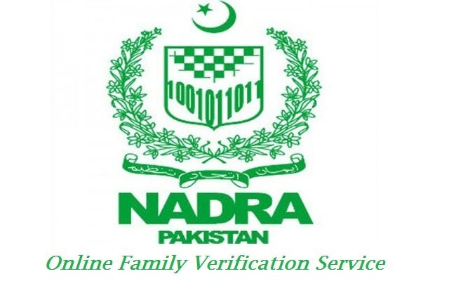 NADRA Announces Online Family Verification Service Today