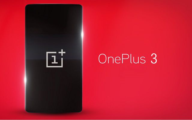 OnePlus 3 to Make its Official Debut on June 14
