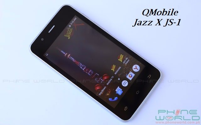 Jazz Brings Free Balance and Internet on Purchase of QMobile Jazz X JS-1