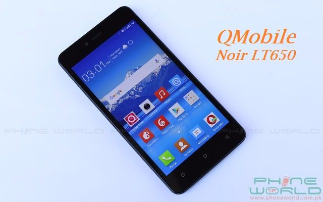 QMobile Presents Noir LT650 at an Affordable Price of Rs 11500