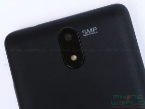 qmobile noir s1 pro 5 mp rear camera on back