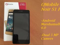QMobile Launches Noir S1 Pro with Marshmallow 6.0 OS