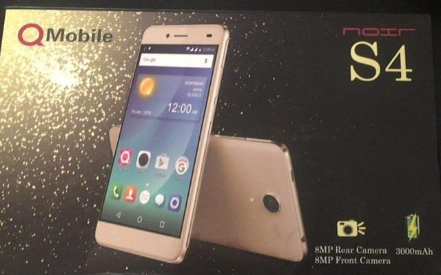 QMobile Launches Selfie Phone Noir S4 with 8 MP Front Camera
