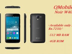 QMobile Launches Noir W40 at an Affordable Price of Rs 7250