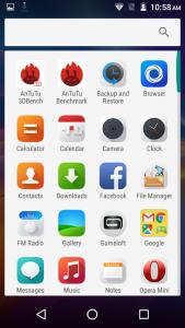 qmobile noir x700 pro interface android marshmallow