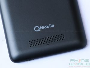 qmobile noir x700 pro speaker at back