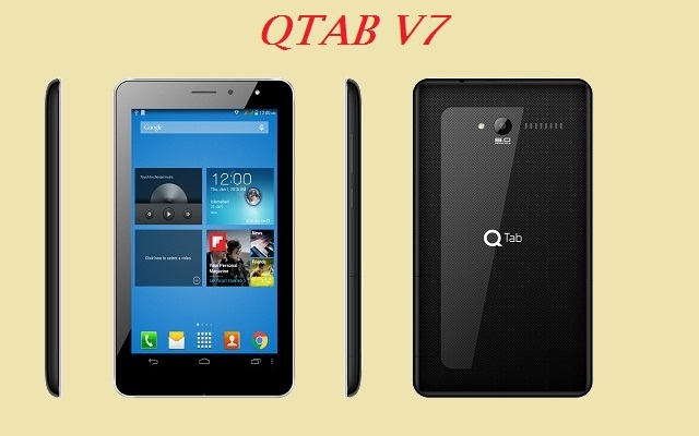 QMobile Launches QTab V7 at an Affordable price of Rs 8000