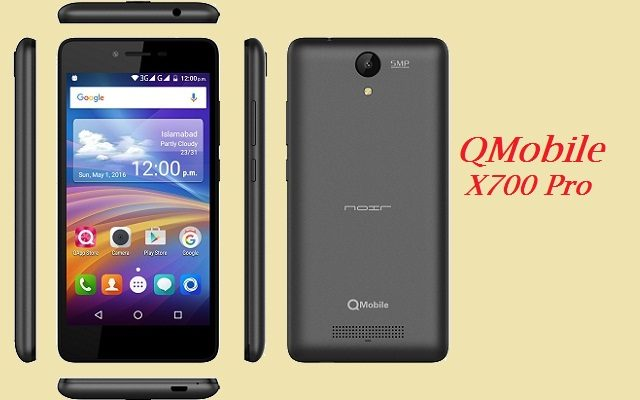 QMobile Launches Noir X700 Pro with 2GB RAM
