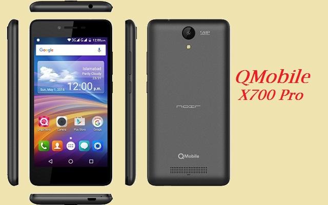 QMobile Launches Noir X700 Pro with 2GB RAM