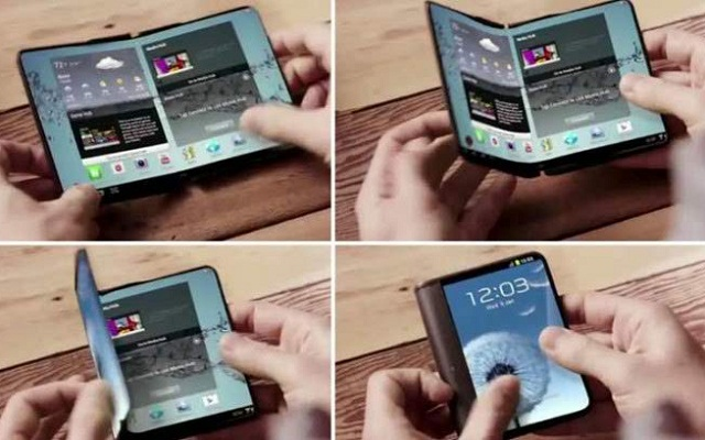 Samsung May Launch its First Bendable Phone at MWC 2017