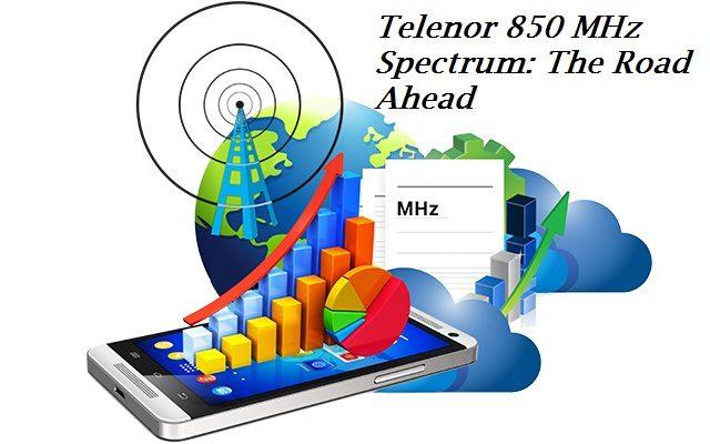 Telenor 850 MHz Spectrum: The Road Ahead