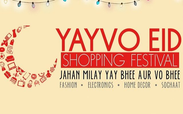 Yayvo Offers Exciting Eid Discounts at Shopping Festival 2016