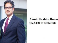 Aamir Ibrahim Becomes the New CEO of Mobilink
