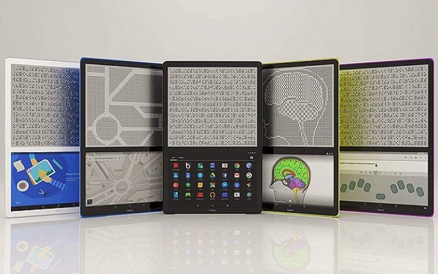 BLITAB: World's First Tablet for Blind and Visually Impaired People
