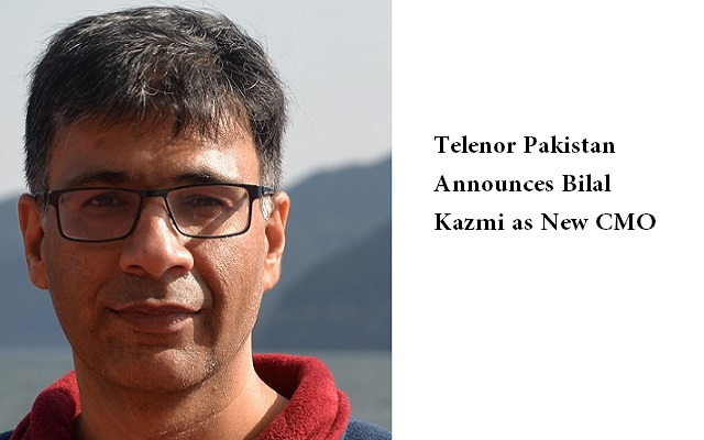 Telenor Pakistan Announces Bilal Kazmi as New Chief Marketing Officer
