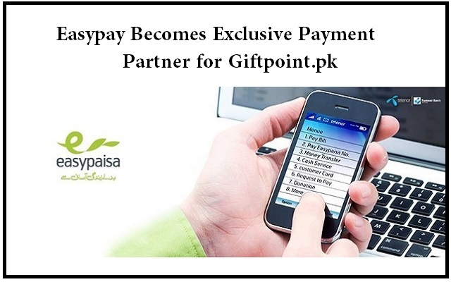 Easypay Becomes Exclusive Payment Partner for Giftpoint.pk