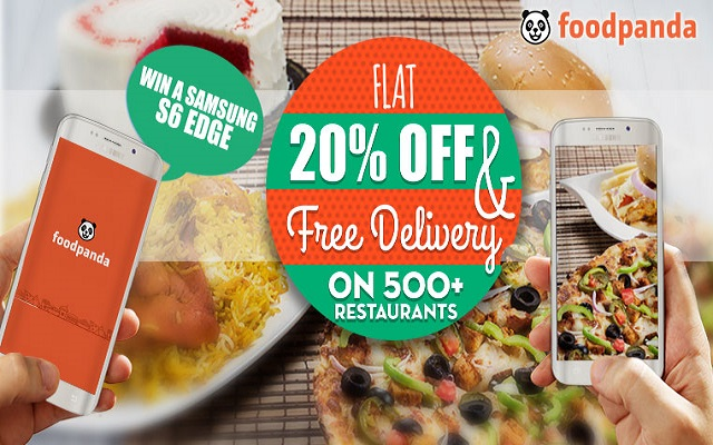 Don't Cook, Just Order in with Flat 20% Discounts & Free Delivery
