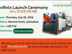 LiveStream Infinix Launch Event|28 July, 2016
