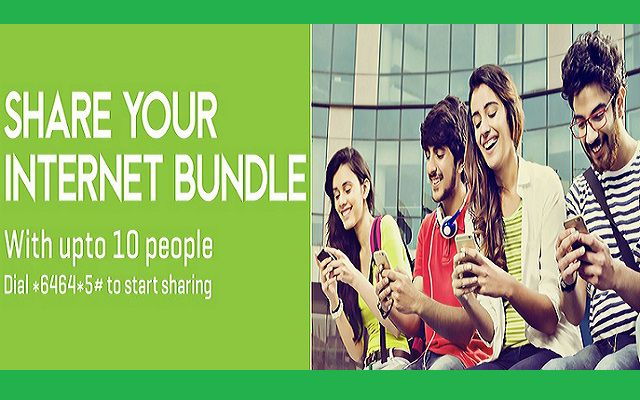 Now Zong Allows you to Share Internet Bundles