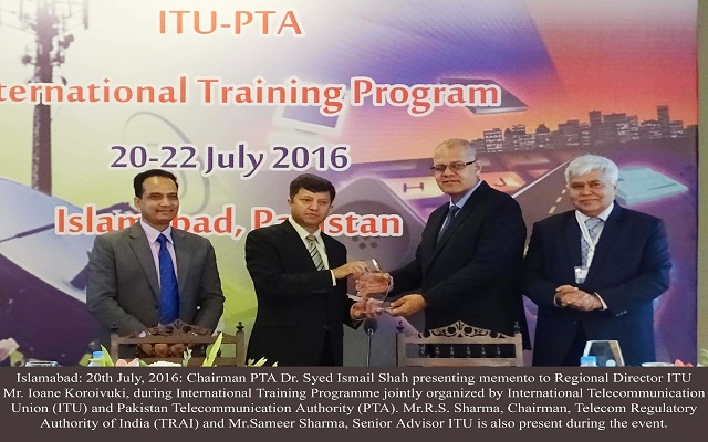 International Training Program Begins at Islamabad