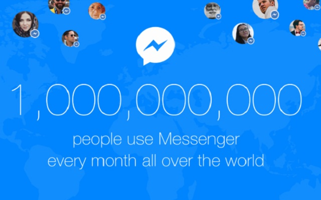 Facebook Messenger Now Has 1 billion Active Users