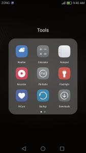 huawei p9 lite interface emui 4.1 Ui marshmallow 6.0