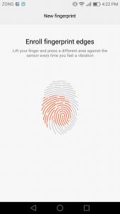 huawei p9 lite interface emui 4.1 Ui marshmallow 6.0 fingerprint settings