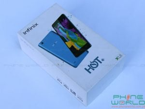 infinix hot 3 pro unboxing retail box