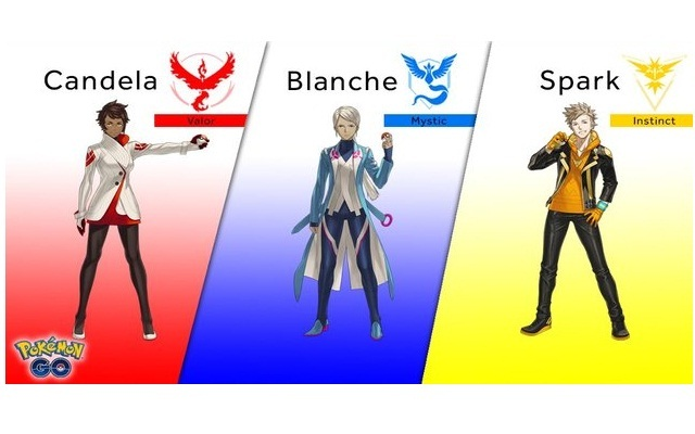 Pokémon GO Team Leaders Revealed, More Features Are Coming
