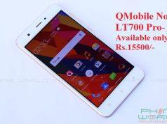 QMobile Launches Noir LT700 Pro with 3GB RAM