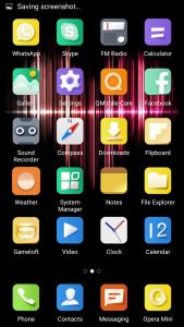 qmobile noir lt750 interface android 5.1 amigo 3.0