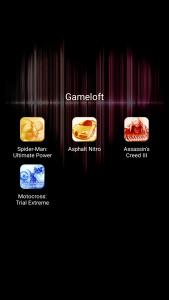 qmobile noir lt750 interface and pre installed apps bloatwares