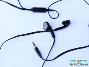 qmobile noir lt750 unboxing headphones earpiece