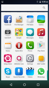 qmobile noir s4 android 6.0 marshmallow interface (1)