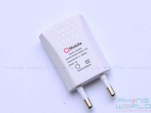 qmobile noir s4 unboxing accessories 1.0A charger