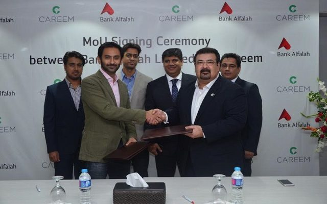 Alfalah Credit Cardholders to Enjoy 25% Discount on Careem Rides