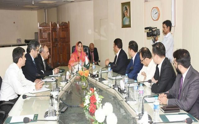 Chinese Delegation Calls on Anusha Rehman to Promote e-Commerce in Pakistan