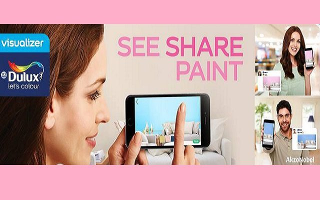 See, Share and Paint with the New Dulux Visualizer App