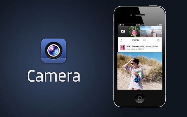 Facebook to Work on Camera Feature Now