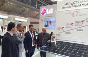 LG Impresses Again at Intersolar Europe with NeON 2 Bifacial
