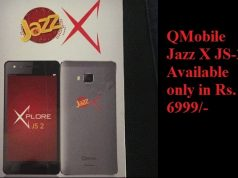 QMobile Presents Jazz X JS-2 at very Low Price of Rs 6999