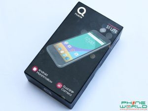 QMobile Noir S1 lite accessories retail box