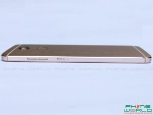 QMobile Z14 edges volume keys power button