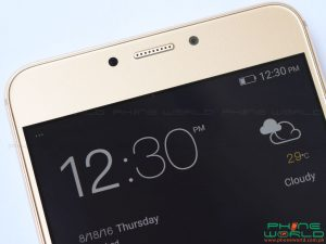 QMobile Z14 front display