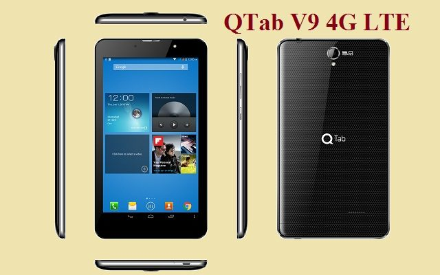 Enjoy 4G LTE Experience with 7 Inches QMobile QTab V9