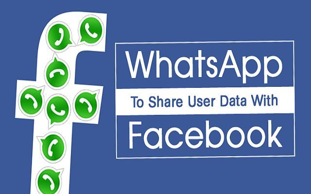 WhatsApp to Share Users' Information with Facebook