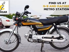 Pakistan's First Motorcycle Taxi Service Cargar Launches in Islamabad