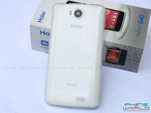 haier pursuit g40 retail box accessories plastic cover